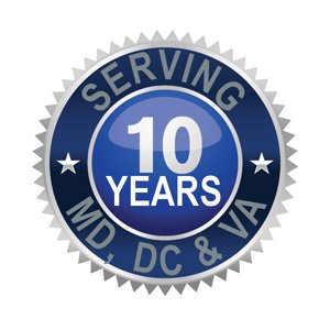 Serving MD, DC and VA for 10 Years